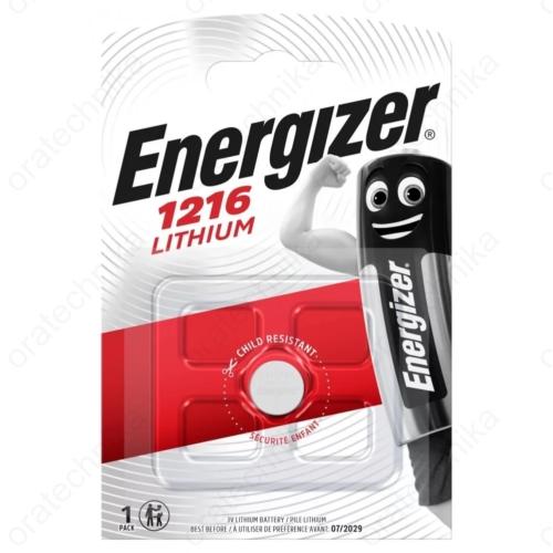 Energizer CR1216 lítium gombelem
