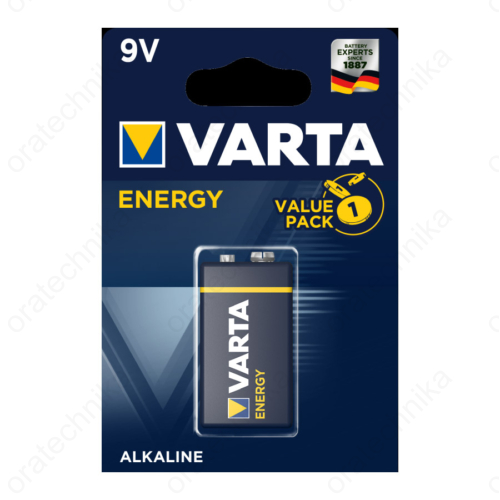Varta Energy alkáli 9V-os elem