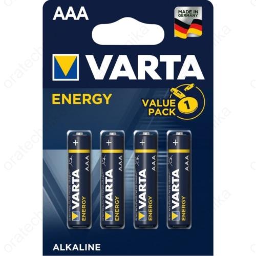 Varta Energy alkáli AAA mikroceruzaelem 4db/csom