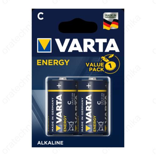 Varta Energy alkáli 'C' bébi elem 2db/csom