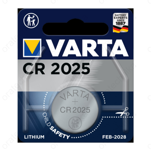 Varta CR2025 lítium gombelem