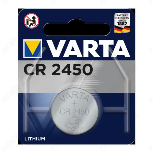 Varta CR2450 lítium gombelem