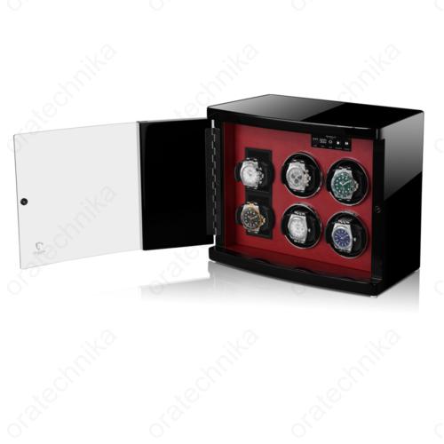 MODALO MV4 Timeless 4+2 Black Red óraforgató