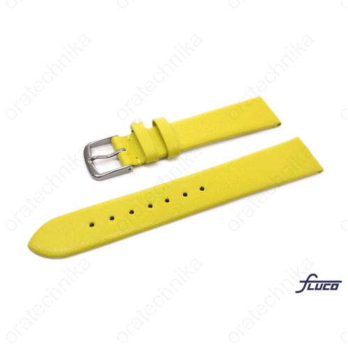 Fluco Consul óraszíj citromsárga színben