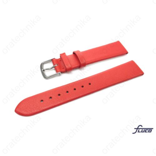 Fluco Consul óraszíj piros színben