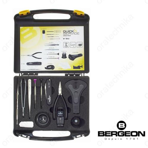 Bergeon 18 részes órásszerszám készlet - Swiss Made