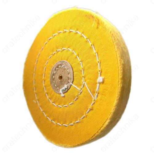 Polírkorong Germany sárga 125mm